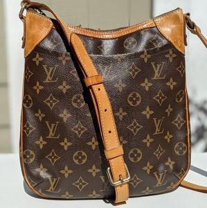 Louis Vuitton Odeon Handbag Monogram Canvas PM